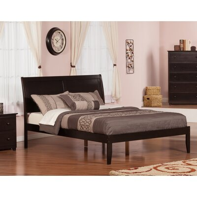 Ahoghill Platform Bed Color: Espresso, Size: Queen