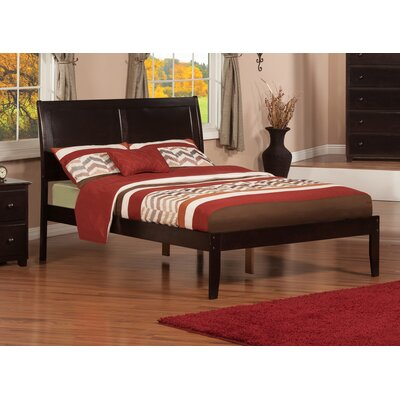 Ahoghill Bed Finish: Espresso, Size: Full