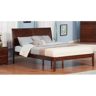 Ahoghill Platform Bed Finish: Antique Walnut, Size: King