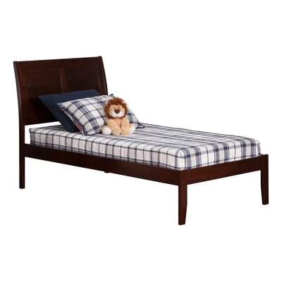 Ahoghill Bed Size: Twin, Finish: Antique Walnut