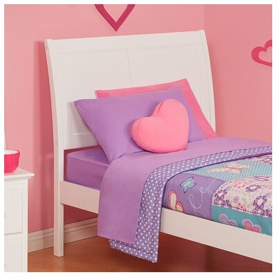 Ahoghill Sleigh Headboard Size: Twin, Finish: White