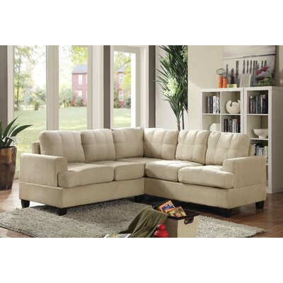 Childress Sectional Upholstery: Beige
