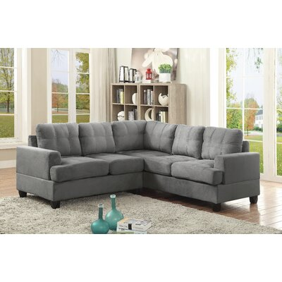 Childress Sectional Upholstery: Gray