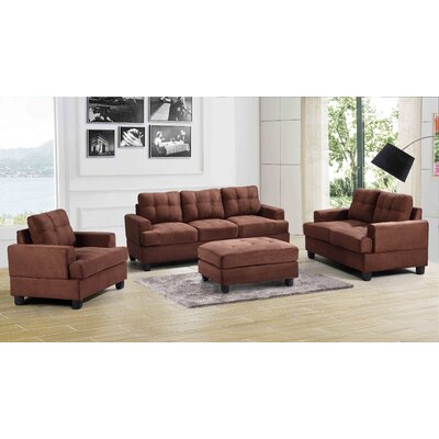 Childress Contemporary Tufted Living Room Collection