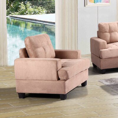 Childress Armchair Color: Mocha