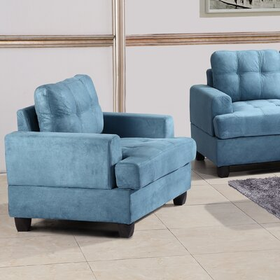 Amberwood Arm Chair Color: Aqua