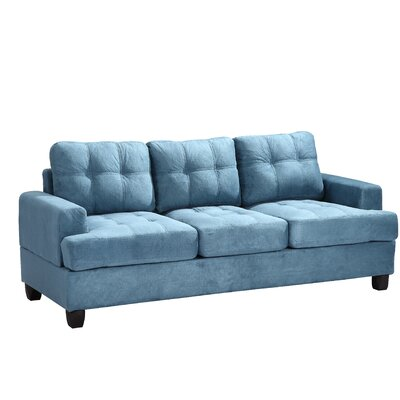 Childress Sofa Upholstery: Aqua