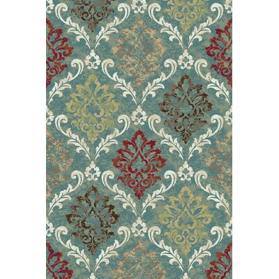 Arbor Lake Blue Area Rug Rug Size: 5 x 8