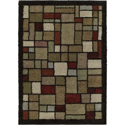 Archdale Broadway Brown Area Rug Rug Size: 5 x 8