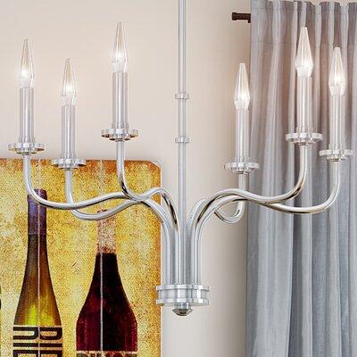 Mayacamas 6-Light Candle-Style Chandelier