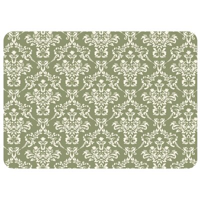 Swofford Kitchen Mat with Rubber Backing Mat Size: 22 x 31, Color: Sage