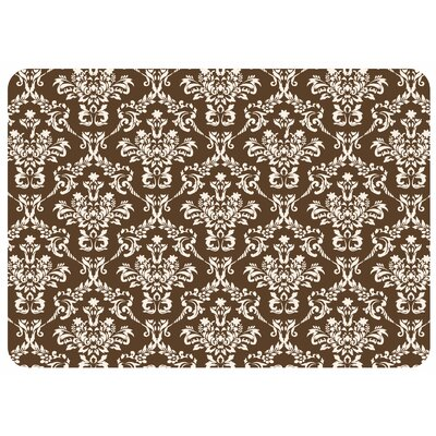 Bulwell Falcon Crest Kitchen Mat Rug Size: 22 x 31, Color: Chocolate