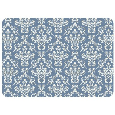 Swofford Kitchen Mat with Rubber Backing Rug Size: 22 x 31, Color: Blue