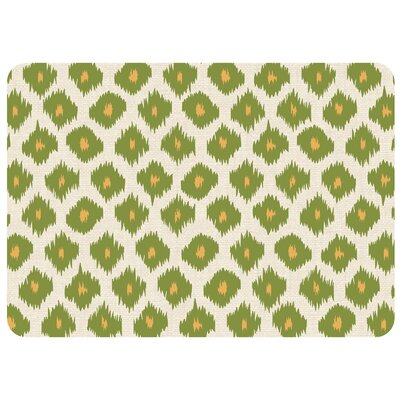 Bulwell Ikat Kitchen Mat Color: Green, Rug Size: 22 x 31
