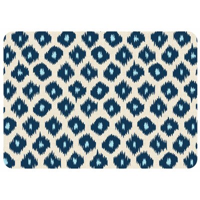 Bulwell Ikat Kitchen Mat Color: Blue, Rug Size: 22 x 31