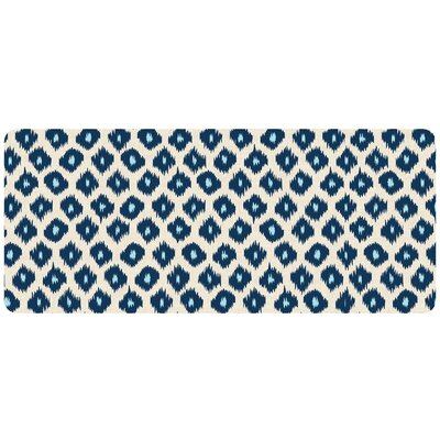 Swofford Ikat Kitchen Mat Mat Size: 22 x 52, Color: Blue