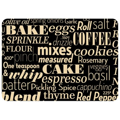 Swofford Kitchen Words Kitchen Mat