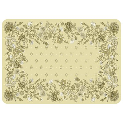 Swofford Floral Kitchen Mat Color: Neutral