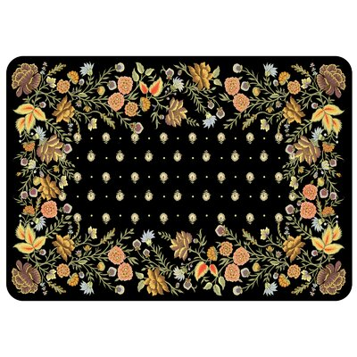 Bulwell Palazzo Kitchen Mat Color: Onyx
