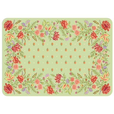 Bulwell Palazzo Kitchen Mat Color: Sage