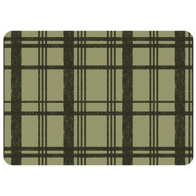 Swofford Grid Kitchen Mat