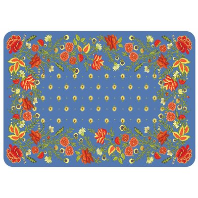 Swofford Nature/Floral Kitchen Mat Color: Tuscany