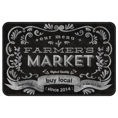 Bulwell Farmers Market Kitchen Mat