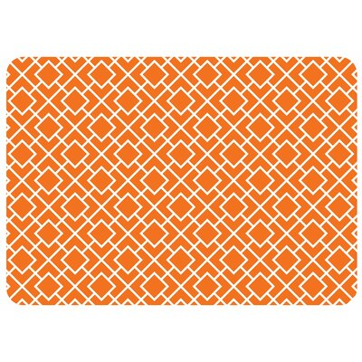 Bulwell Tazekka Kitchen Mat Color: Tangerine