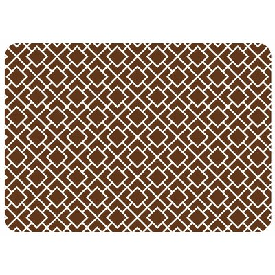 Bulwell Tazekka Kitchen Mat Color: Chocolate