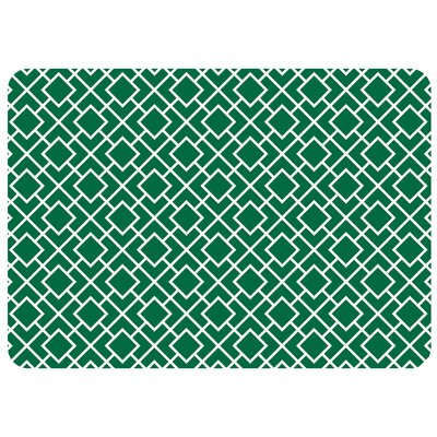 Swofford Skid Resistant Kitchen Mat Color: Green