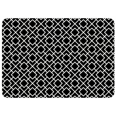 Swofford Skid Resistant Kitchen Mat Color: Black
