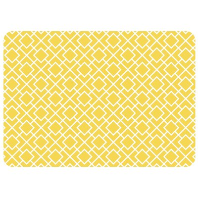 Swofford Skid Resistant Kitchen Mat Color: Yellow