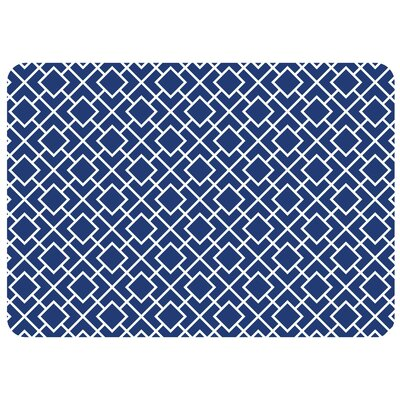 Swofford Skid Resistant Kitchen Mat Color: Blue
