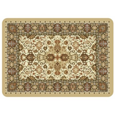 Bulwell Tabriz Kitchen Mat Color: Natural