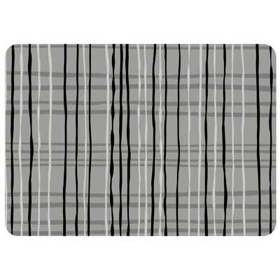 Bulwell Loose Plaid Kitchen Mat