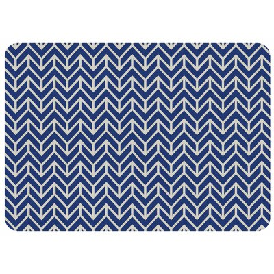 Bulwell Bremen Kitchen Mat Color: Blue
