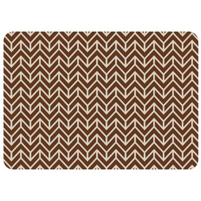 Bulwell Bremen Kitchen Mat Color: Chocolate