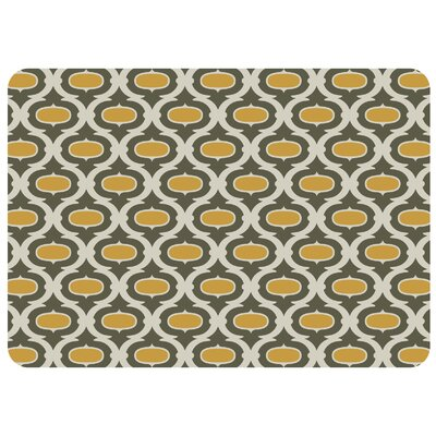Swofford Trellis Kitchen Mat Color: Green