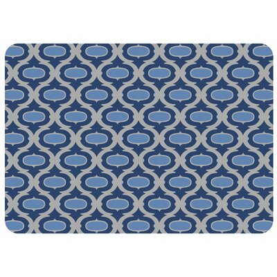 Swofford Trellis Kitchen Mat Color: Blue