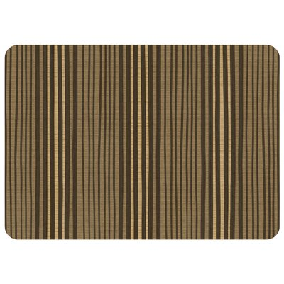 Swofford Hand Painted Stripe Kitchen Mat Color: Natural