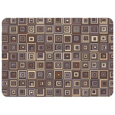 Bulwell Pebble Tile Doormat Color: Chocolate