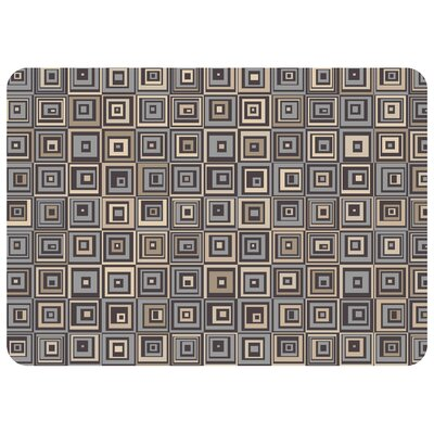 Bulwell Pebble Tile Doormat Color: Gray