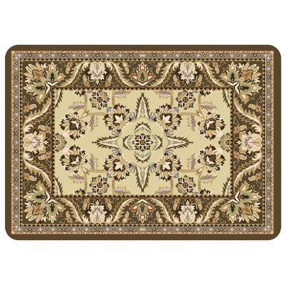 Swofford Rectangle Kitchen Mat Color: Natural