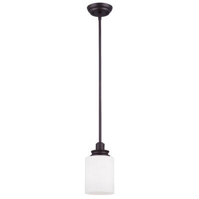 Slocumb 1-Light Mini Pendant Finish: Oil Rubbed Bronze