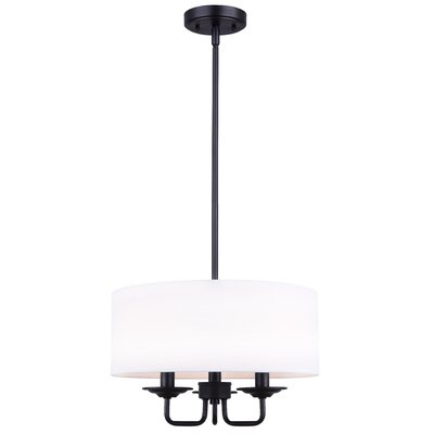 Achenbach 3-Light Semi Flush Mount