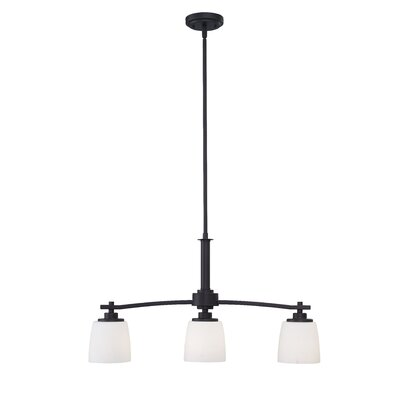 Benfield 3-Light Semi Flush Mount Finish: Oil Rubbed Bronze