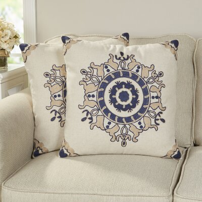 Alchemist Cotton Throw Pillow