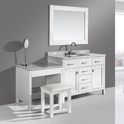 Middletown 42 Single Vanity Set with Mirror