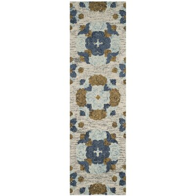 Abrahamic Hand-Tufted Area Rug Rug Size: Runner 23 x 8