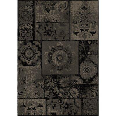 Amherst Gray/Black Area Rug